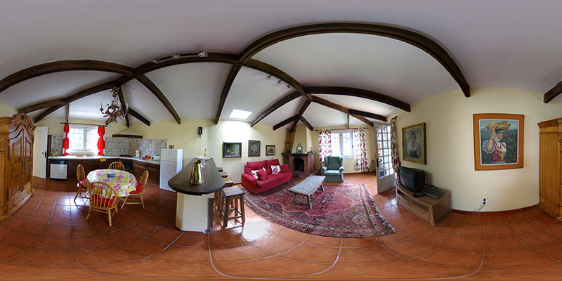 Casa Rural Mistica (Vista y Casa)