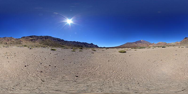 Teide - Las Cañadas - El Llano de Ucanca
