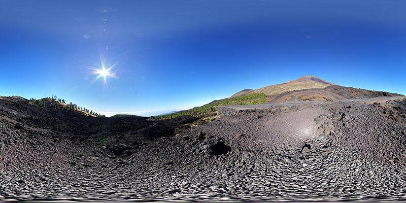 Teide - Las Cañadas - Montaña Chasogo